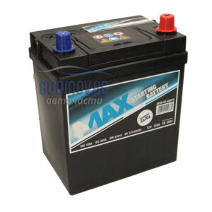 4MAX 35Ah 300A R+ акумулатор от budinov.bg онлайн магазин за авточасти
