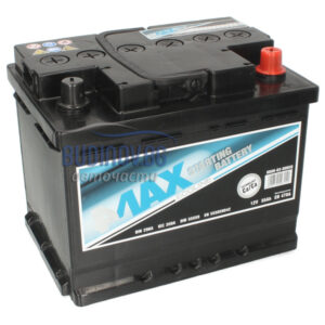 4MAX 55Ah 470A R+ акумулатор от budinov.bg онлайн магазин за авточасти