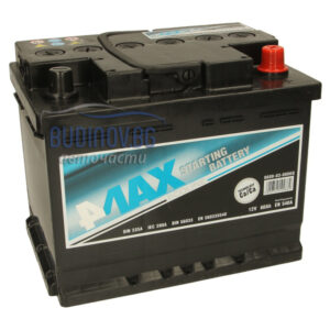 4MAX 60Ah 540A R+ акумулатор от budinov.bg онлайн магазин за авточасти
