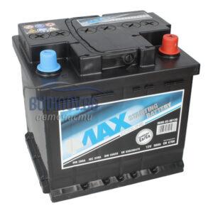 4MAX 50Ah 470A R+ акумулатор от budinov.bg онлайн магазин за авточасти