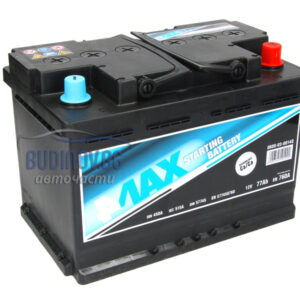 4MAX 77Ah 760A R+ акумулатор от budinov.bg онлайн магазин за авточасти