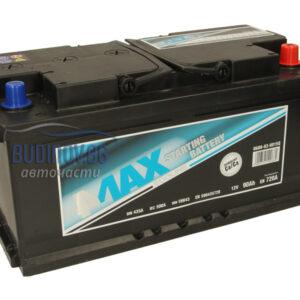 4MAX 90Ah 720A R+ акумулатор от budinov.bg онлайн магазин за авточасти