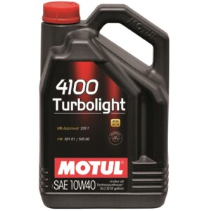 Motul 4100 Turbolight 10W40 5L - Budinov.bg онлайн магазин за авточасти