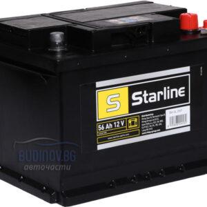 Акумулатор Starline 56 Ah 480 A R+