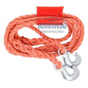 Въже за теглене 4m от budinov.bg онлайн магазин за авточасти