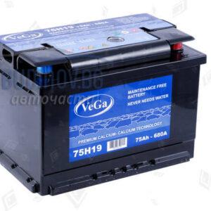 Акумулатор Vega 75Ah 680A