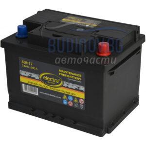 Electra 60Ah 540A акумулатор от budinov.bg онлайн магазин за авточасти