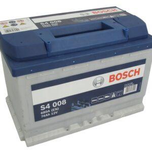 Bosch 74Ah 680A S4 R+ акумулатор от budinov.bg онлайн магазин за авточасти