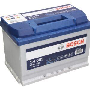 Bosch 74Ah 680A S4 L+ акумулатор от budinov.bg онлайн магазин за авточасти