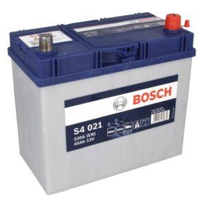 Bosch 45Ah 330A S4 Asia R+ акумулатор от budinov.bg онлайн магазин за авточасти