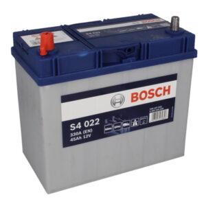 Bosch 45Ah 330A S4 Asia L+ акумулатор от budinov.bg онлайн магазин за авточасти