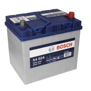 Bosch 60Ah 540A S4 Asia R+ акумулатор от budinov.bg онлайн магазин за авточасти