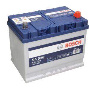 Bosch 70Ah 630A S4 Asia R+ акумулатор от budinov.bg онлайн магазин за авточасти