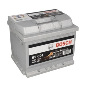 Bosch 52Ah 520A S5 R+ акумулатор от budinov.bg онлайн магазин за авточасти