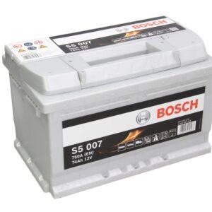 Bosch 74Ah 750A S5 R+ акумулатор от budinov.bg онлайн магазин за авточасти