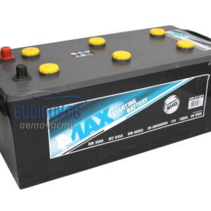 4MAX 180Ah 950A L+ акумулатор от budinov.bg онлайн магазин за авточасти