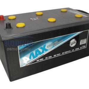 4MAX 225Ah 1150A L+ акумулатор от budinov.bg онлайн магазин за авточасти