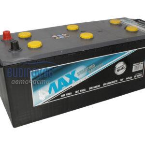 4MAX 145Ah 800A L+ акумулатор от budinov.bg онлайн магазин за авточасти