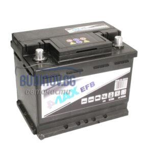 4MAX 62Ah 580A EFB R+ акумулатор от budinov.bg онлайн магазин за авточасти
