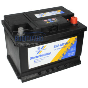 Cartechnic 53Ah 470A R+ акумулатор от budinov.bg онлайн магазин за авточасти