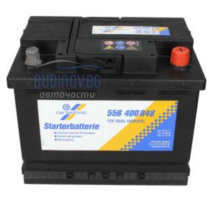 Cartechnic 56Ah 480A R+ акумулатор от budinov.bg онлайн магазин за авточасти