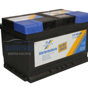 Cartechnic 72Ah 680A R+ акумулатор от budinov.bg онлайн магазин за авточасти