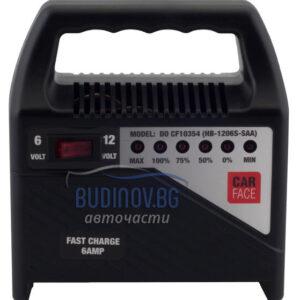 Зарядно устройство за акумулатор Carface 6 Amp 6/12V от budinov.bg онлайн магазин за авточасти