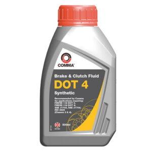 Спирачна течност Comma DOT 4 0,5L