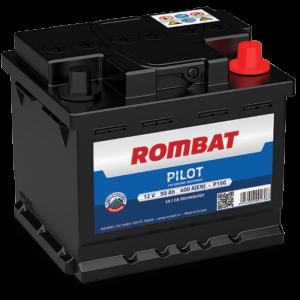 Rombat Pilot 50Ah 400A R+ акумулатор от budinov.bg онлайн магазин за авточасти