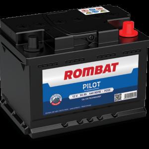 Rombat Pilot 55Ah 440A R+ акумулатор от budinov.bg онлайн магазин за авточасти