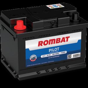 Rombat Pilot 60Ah 480A L+ акумулатор от budinov.bg онлайн магазин за авточасти
