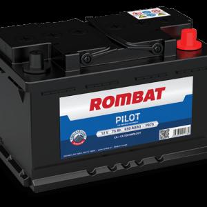 Rombat Pilot 75Ah 700A R+ акумулатор от budinov.bg онлайн магазин за авточасти