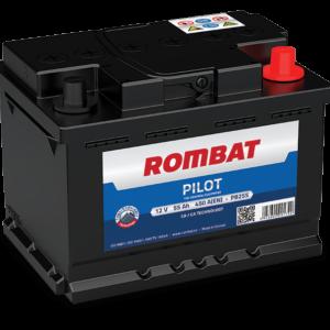 Rombat Pilot 55Ah 450A R+ акумулатор от budinov.bg онлайн магазин за авточасти