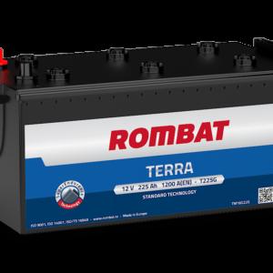 Rombat Terra 225Ah 1200A L+ акумулатор от budinov.bg онлайн магазин за авточасти