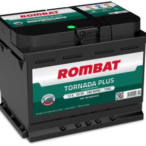 Rombat Tornada Plus 62Ah 560A R+ акумулатор от budinov.bg онлайн магазин за авточасти