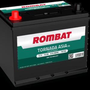 Rombat Tornada Asia 75Ah 610A L+ акумулатор от budinov.bg онлайн магазин за авточасти