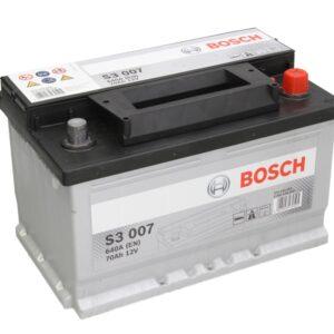 Bosch 70Ah 640A S3 R+ акумулатор от budinov.bg онлайн магазин за авточасти