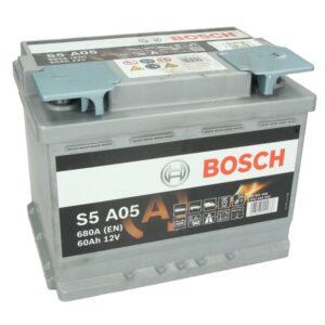 Bosch 60Ah 680A S5 AGM R+ акумулатор от budinov.bg онлайн магазин за авточасти