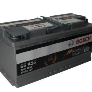 Bosch 105Ah 950A S5 AGM R+ акумулатор от budinov.bg онлайн магазин за авточасти