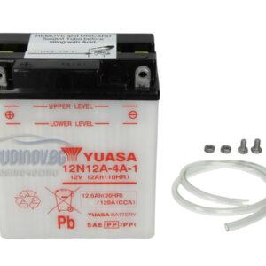 Yuasa 12Ah 120A L+ Мото акумулатор от budinov.bg онлайн магазин за авточасти