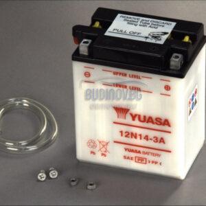Yuasa 14Ah 125A R+ Мото акумулатор от budinov.bg онлайн магазин за авточасти