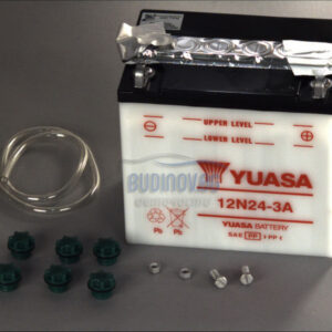 Yuasa 24Ah 200A R+ Мото акумулатор от budinov.bg онлайн магазин за авточасти