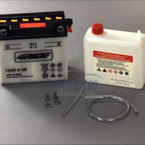 4Ride 5,5Ah 60A R+ мото акумулатор от budinov.bg онлайн магазин за авточасти