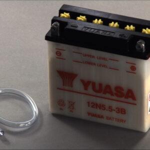 Yuasa 5,5Ah 55A R+ Мото акумулатор от budinov.bg онлайн магазин за авточасти