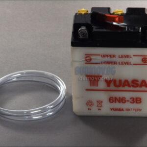 Yuasa 6V 6Ah R+ Мото акумулатор от budinov.bg онлайн магазин за авточасти