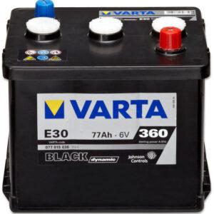 Varta Black Dynamic 6V 77Ah 360A R+ акумулатор от budinov.bg онлайн магазин за авточасти