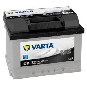 Varta Black Dynamic 53Ah 500A R+ акумулатор от budinov.bg онлайн магазин за авточасти