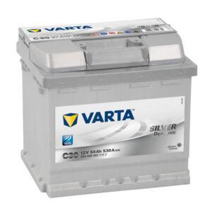 Varta Silver Dynamic 54Ah 530A R+ акумулатор от budinov.bg онлайн магазин за авточасти