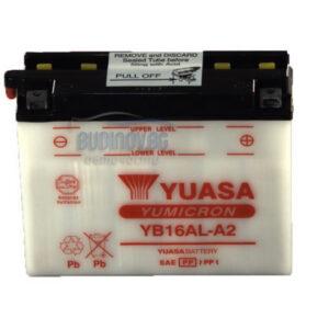 Yuasa 16Ah 210A R+ Мото акумулатор от budinov.bg онлайн магазин за авточасти