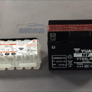 Yuasa 3Ah 50A R+ Мото акумулатор от budinov.bg онлайн магазин за авточасти